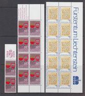 Liechtenstein 1987 Gedenkjahre 2v 10x ** Mnh (44317) - Liechtenstein