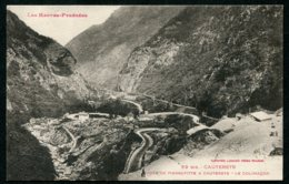 14334 FRANCE  CPA 65  CAUTERETS  53 Bis - Route De Pierrefitte à Cauterets - Le Colimaçon   TB - Cauterets