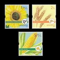 Moldova 2019 Mih. 1113/15 Flora. Field Crops MNH ** - Moldavia
