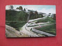 Old Block House & Road To Fort Mackinac Island  Michigan   Ref    3567 - Vereinigte Staaten