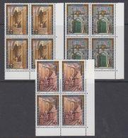 Liechtenstein 1987 Stadtpalais Liechtenstein, Wien 3v Bl Of 4 (corners) ** Mnh (44318) - Liechtenstein