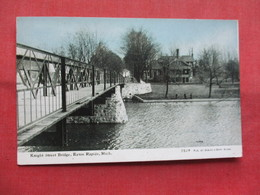 Knight Street Bridge Eaton Rapids    Michigan   Ref    3567 - Vereinigte Staaten