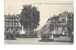 22323 - Genève Place Du Cirque Et Boulevard Georges Favon - GE Ginevra