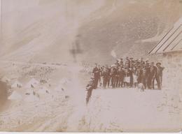 Photographie Camp Des Fourches Col De La Bonette 06  St Dalmas Le Selvage - Guerra, Militari