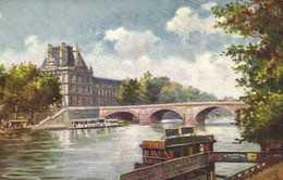 Illustrateur PARIS  PORT ROYAL  RV TUCK'S - Peintures & Tableaux