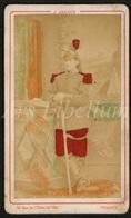 Carte De Visite / CDV / Militaire / Soldat / Soldier / Photographer / Arnaud / Verdun / France / 2 Scans - Photos