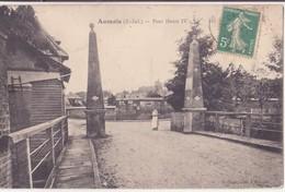 CPA - AUMALE  (Seine Inf) -  PONT HENRI IV - Aumale