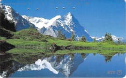 PAYSAGE - MONTAGNE - MASSIF - NATURE - LANDSCAPE - MOUNTAIN  - Télécarte Japon - Montagnes