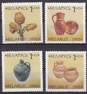 1992, Belarus, 17/20, Keramikgefäße. MNH ** - Belarus