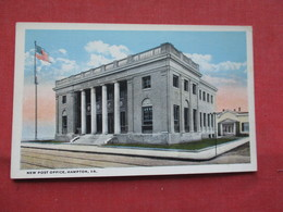 Post Office    Hampton  Virginia >     Ref    3567 - Hampton