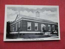 Post Office  Bassett   Virginia >     Ref    3567 - Sonstige
