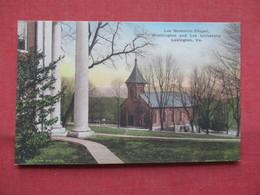 Hand Colored--- Lee Memorial Chapel  Washington & Lee University  Lexington   Virginia >     Ref    3567 - Sonstige