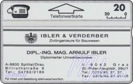 AUSTRIA Private: *Ibler & Verderber* - SAMPLE [ANK P112] - Autriche