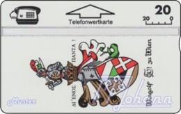AUSTRIA Private: *Wingolf - Wien* - SAMPLE [ANK P125] - Autriche