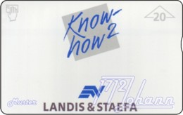 """TWK Österreich Privat: """"Landis & Staefa - Know How2"""" (610L) Gebr. - Autriche"""