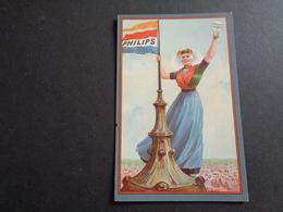 Publicité ( 2 ) Reclame   PHILIPS  Lampe  Lamp - Publicité