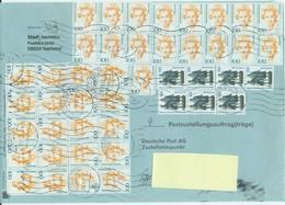 Pu 07 Bund Postzustellungsauftrag Mit Mischfrankatur - [7] République Fédérale