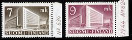 FINLAND 1942 Definitive Lions 7 Mk + 9 Mk, MI 269-270**MNH DEXTRINE INVISIBLE GUM - Nuovi