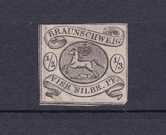 Braunschweig - 1856 - Michel Nr. 5 - 80 Euro - Braunschweig