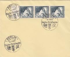 Blanko Sonderstempelbeleg 1939: Berlin: Tag Der Briefmarke, Fahrb. Postamt - Deutschland
