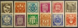 FRANCE 1941 - MNH - YT 526-537 - Secour National - France