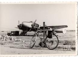 Avion - Pte Photo… C.1947 Aéroport De Nice - Aviation