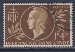 Inde N° 233  X  Entraide Française Oblitération Légère Sinon TB - Used Stamps