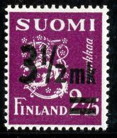FINLAND 1943-1948 Definitive Lions Surcharged MI 277, 324, 348**MNH - Nuovi