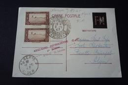 France Militaire. N°150043.algerie .1943.timbres .cachet .obliterations Mixtes. - Marcophilie (Lettres)