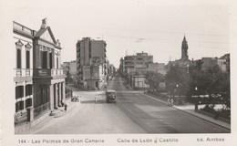 CPSM -LAS PALMAS DE GRAN CANARIA - CALLE DE LEON Y CASTILLO - 2 SCANS - Gran Canaria