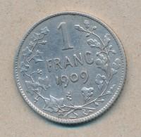 België/Belgique 1 Fr Leopold II 1908 Fr Morin 200a (89369) - 07. 1 Franc