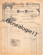75 22 072 PARIS SEINE 1913 Dorure Sur Bois ERNEST JACOB Rue De Vaugirard EXPERTISE VENTE DE TABLEAU A DESSARS - France
