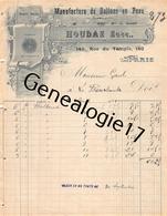 75 22 071 PARIS SEINE 1901 SPORT ( Football Rugby ) Manufacture Ballons En Peau HOUDAS Succ L. ELIOT Rue Du Temple - France
