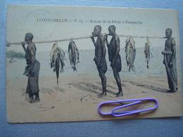 CONGO BELGE : Retour De La Pêche à TANGANYKA En 1904 - Congo Belge - Autres