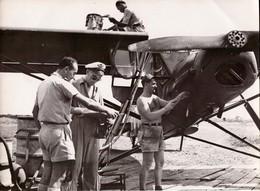 INDOCHINE  MILITAIRES AVIATION PILOTE AVION TAN SON NUT  18 PAR 13 CM - Aviation