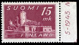 FINLAND 1945 Definitive 15 Mk MI 317**MNH - Nuovi