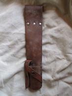 Porte-fourreau Pour Baionnette Modéle (1896,1914) Suedois - Decorative Weapons