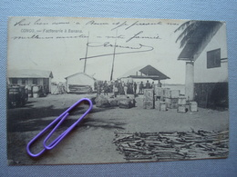 CONGO BELGE : Factorerie à BANANA En 1905 - Congo Belge - Autres