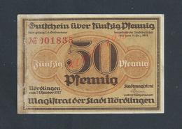 MILITARIA ALLEMAGNE BILLET DE BANQUE DE 1918 PENDANT GUERRE : - 1914-18