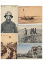 De Panne  La Panne:mooi Lot Van 100  Postkaarten - Postcards