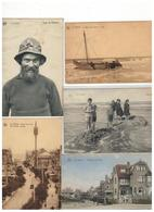 De Panne  La Panne:mooi Lot Van 100  Postkaarten - 100 - 499 Karten