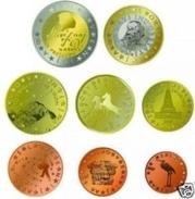 Slovenie  2017    De Volledige Set Van 8 Munten / 8 Pieces De 1ct à 2 Euro   UNC Uit De BU  UNC Du Coffret - Slovénie