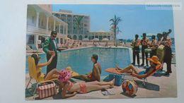 D166804 BERMUDA  New Princess Hotel  Pool And Terrace   Ca 1960's Stamp QEII - Bermuda