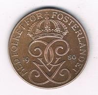 5 ORE  1950 ZWEDEN /6283/ - Suède