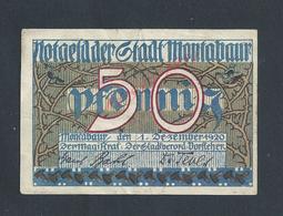 ALLEMAGNE BILLET DE BANQUE DE 1920 : - Banco & Caja De Ahorros