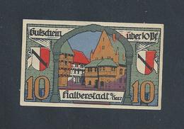 ALLEMAGNE BILLET DE BANQUE DE 1920 : - Banque & Assurance
