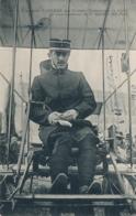 """Aviateur PAULHAN Signature AUTOGRAPHE Sur  CP """".. Aux Grandes Manoeuvres En Tenue De Sous-Lieutenant Du 1er Génie """" - Aviation"""