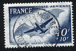 France Poste Aérienne N°23 Oblitéré, Qualité Superbe - 1927-1959 Oblitérés