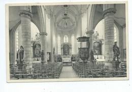 Zandhoven De Kerk Binnenzicht ( Gelopen Kaart ) - Zandhoven