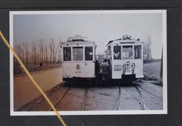REPRODUCTION  TRAM   Ligne 20 MONS QUEVY HAINAUT - Tram